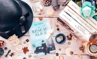 Le réseau Alice Kate Quinn une souris et des livres