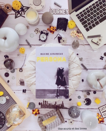 Persona Maxime Girardeau une souris et des livres