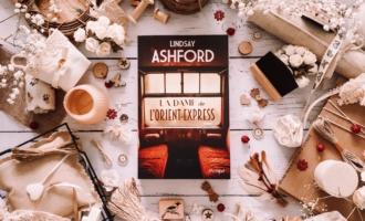 La dame de L'Orient-Express de Lindsay Jane Ashford une souris et des livres